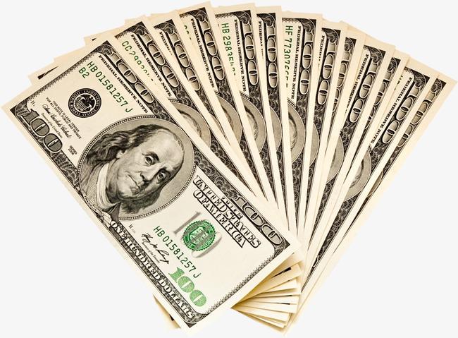 Cash clipart dollar bill. Stack of money hundred