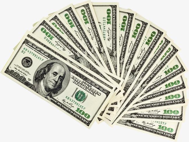Money dollars hundred bills. Cash clipart dollar bill