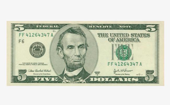 Cash clipart dollar bill. One us bills a