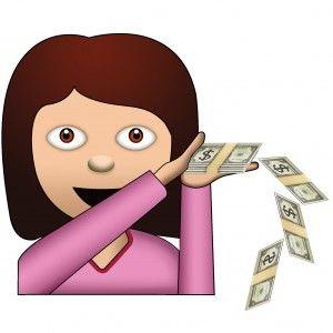 Cash clipart emoji. Make it rain money