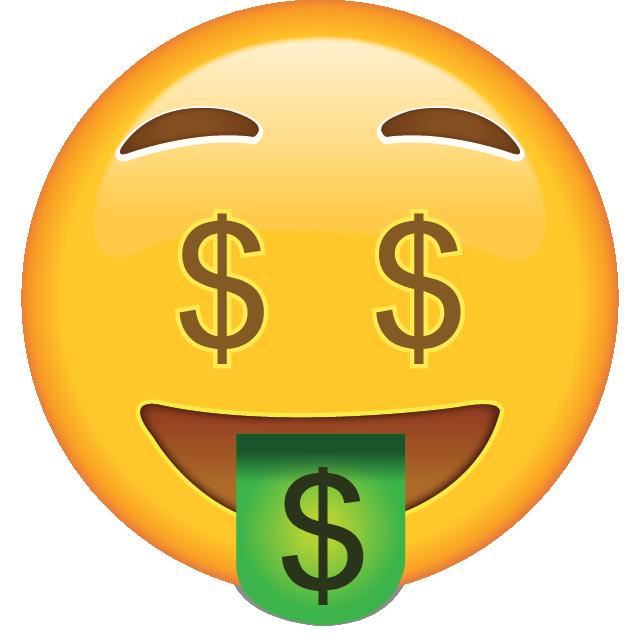 Cash clipart emoji. Money face adventures in