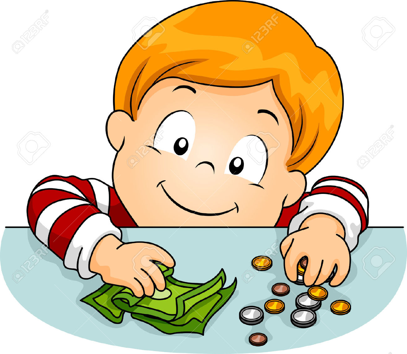 Cash clipart kid.  collection of boy