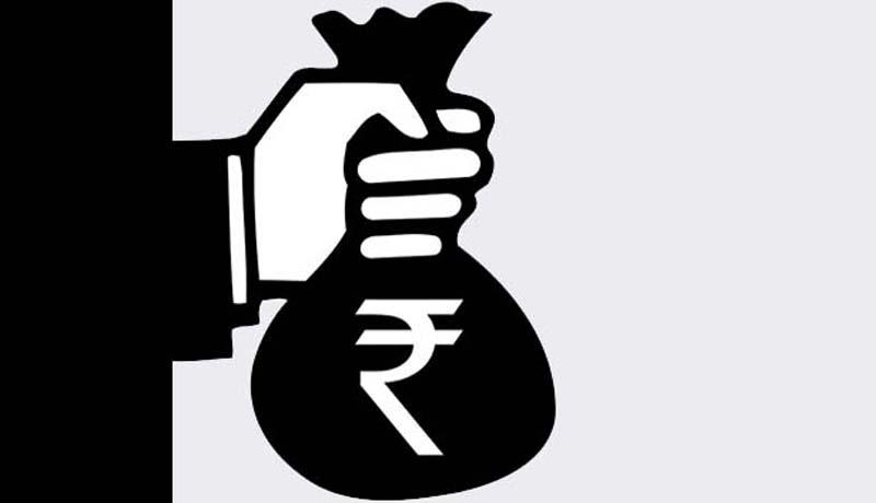 Ban transactions above lakhs. Cash clipart logo