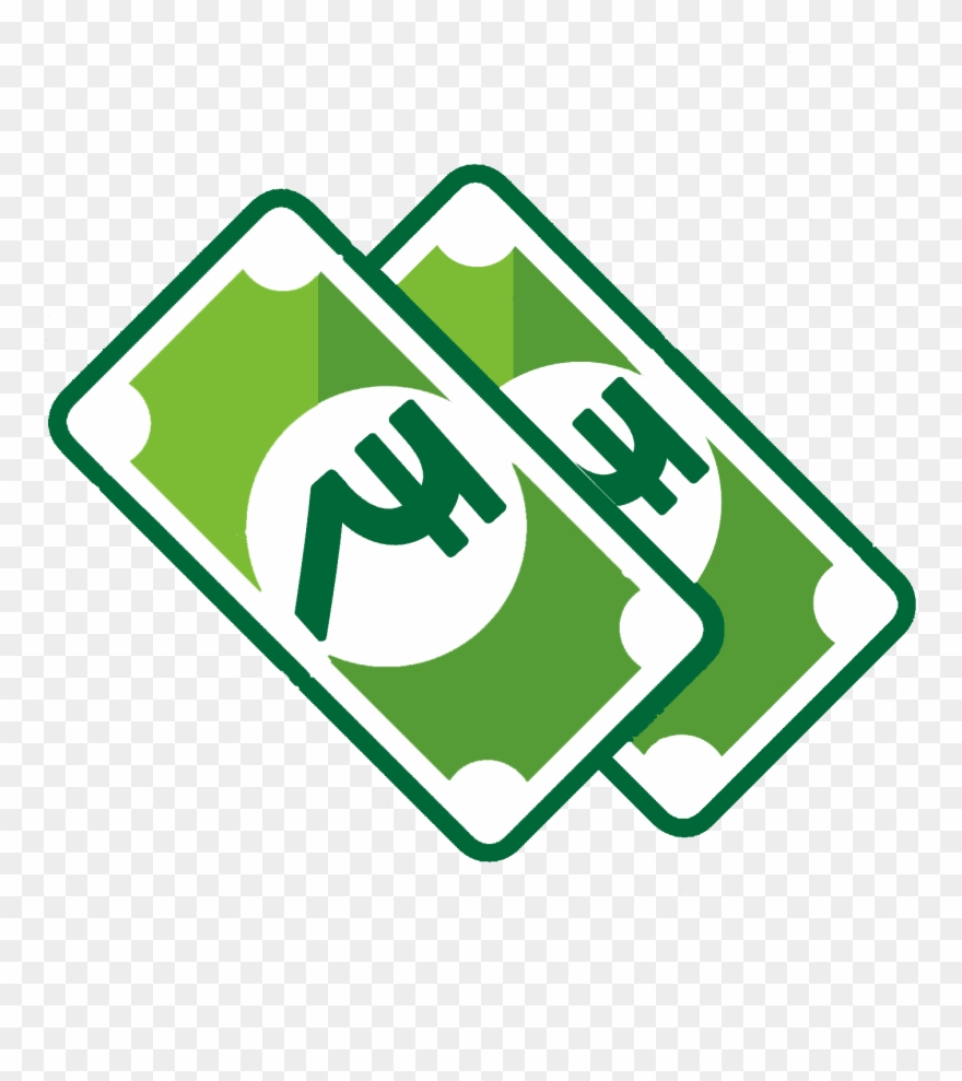 On delivery rupees png. Cash clipart logo