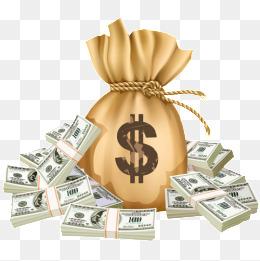 Png images vectors and. Cash clipart money bag