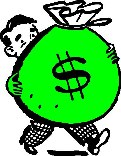 Clip art panda free. Cash clipart money bag