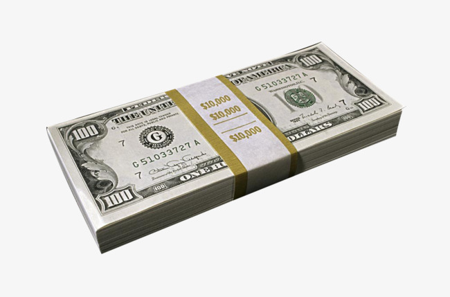 Dollars clipart bundle. A of money clips