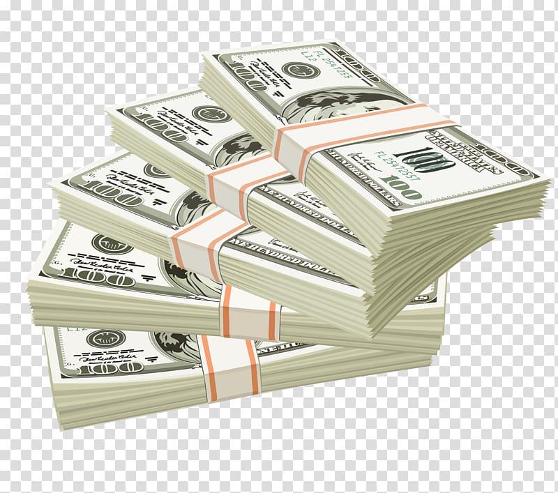 Dollars clipart bundle. Five of us dollar