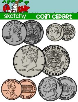 Cash clipart money coin. Us math and school