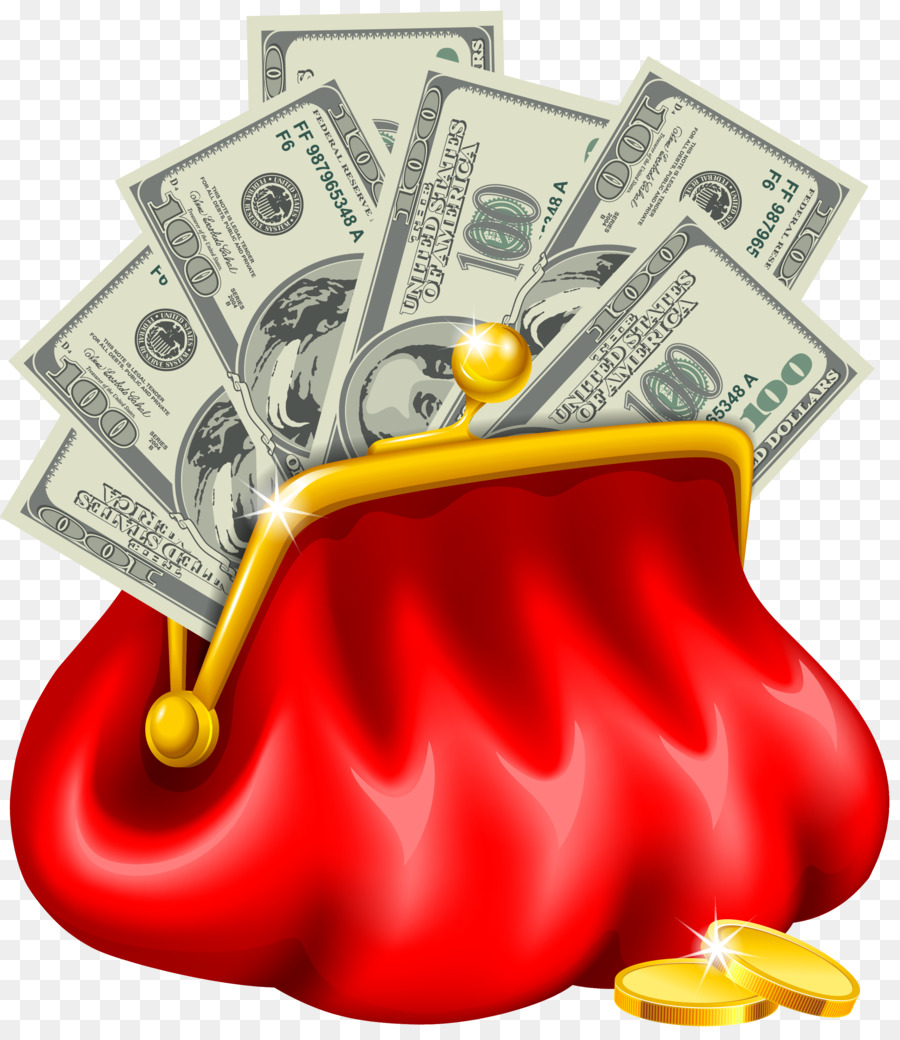 Bag purse clip art. Cash clipart money coin