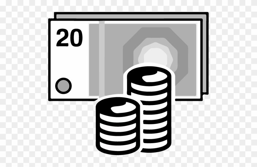 Cash clipart note. Money notes coins pinclipart