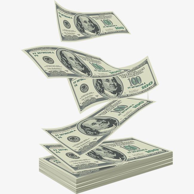 cash clipart paper money