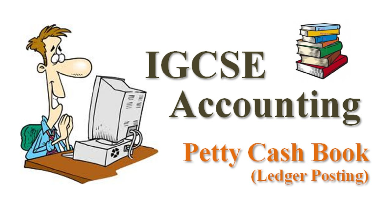 Cash clipart petty cash. Igcse accounting book ledger