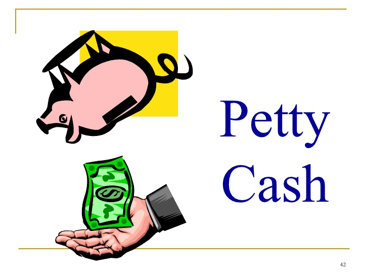 Acc week . Cash clipart petty cash