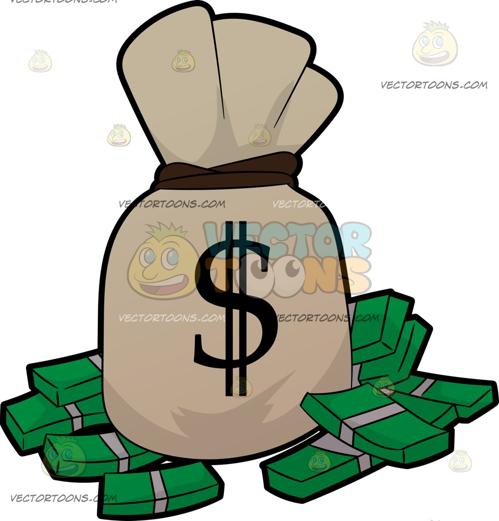 Cash clipart pile money. Of free download best
