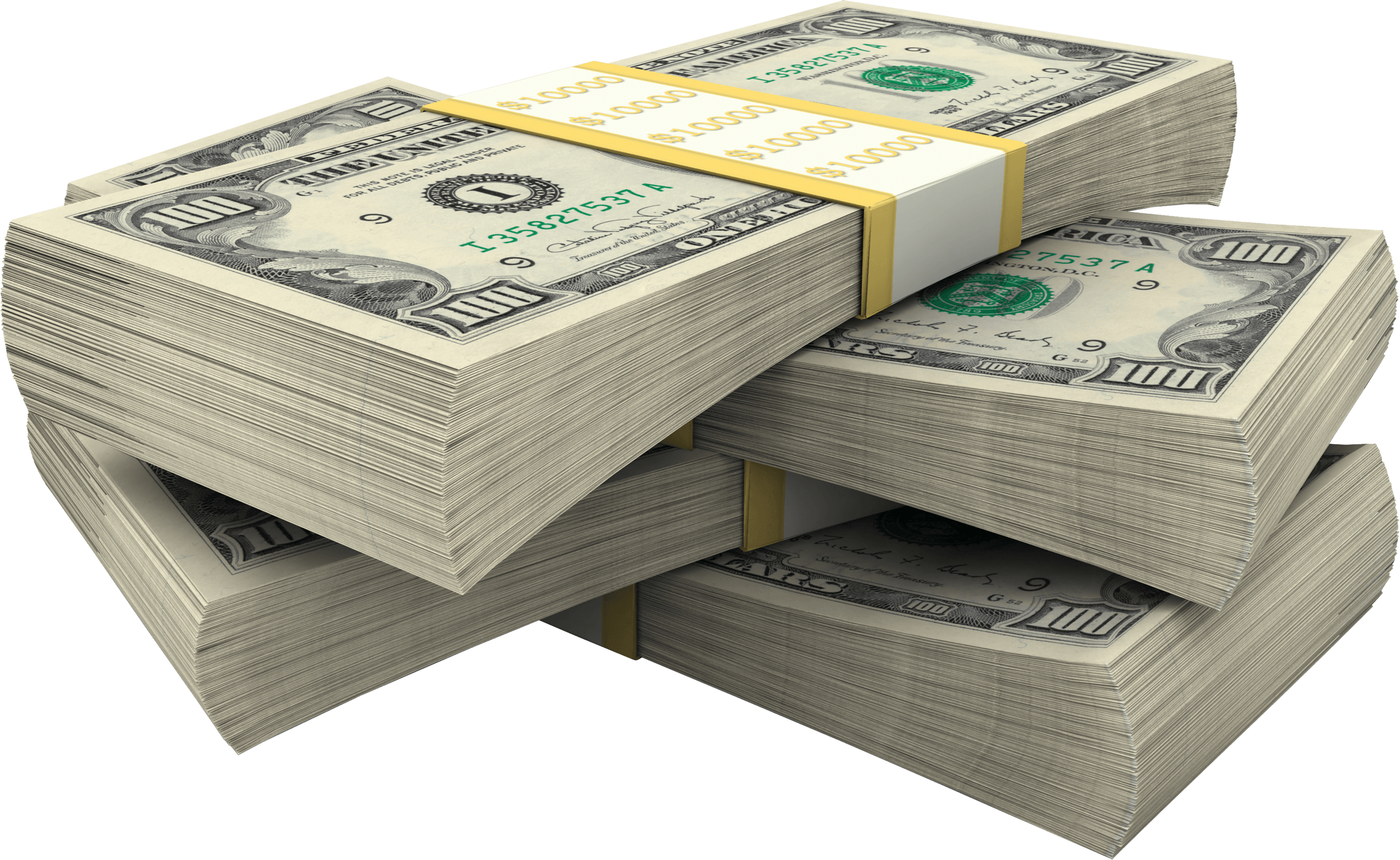 Money clipart currency. Stack of dollar bills
