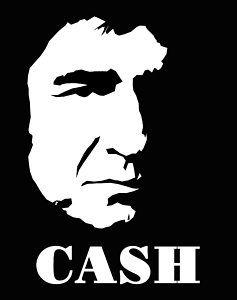 Johnny black and white. Cash clipart pop art