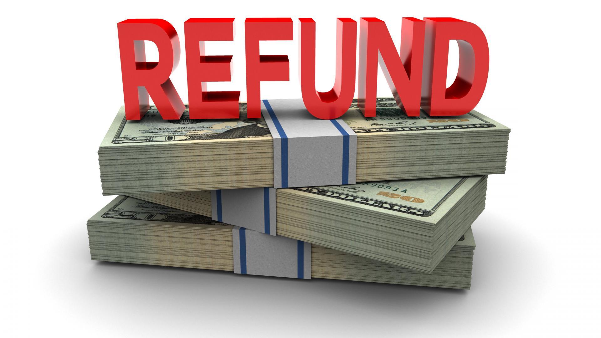 Cash clipart reimbursement. Refund x dumielauxepices net
