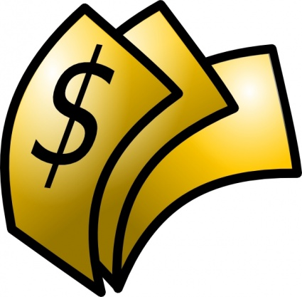cash clipart reward