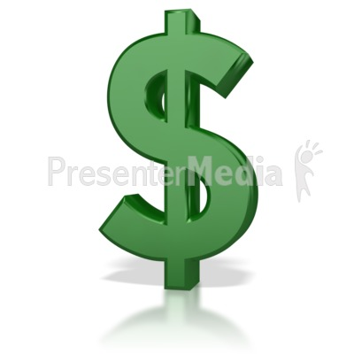 Shinny money signs and. Cash clipart symbol
