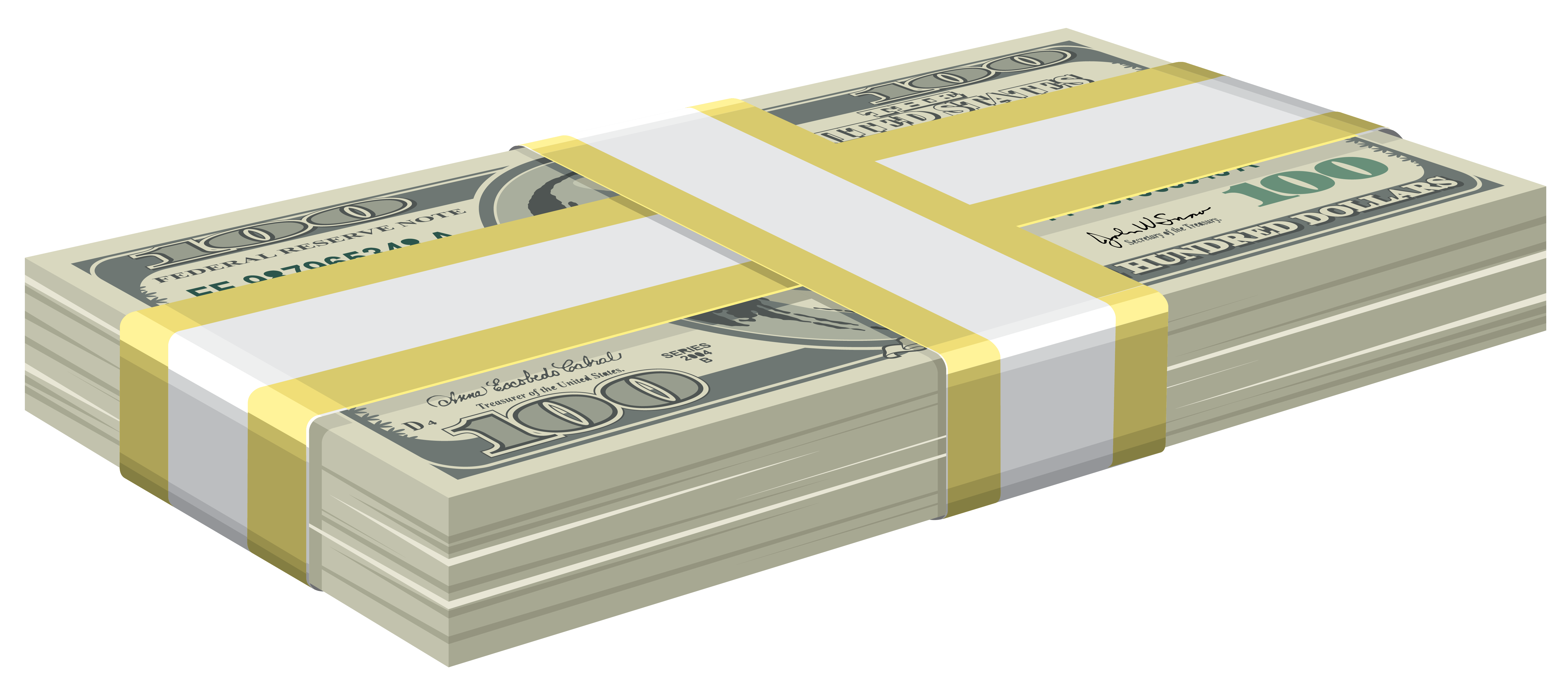 Stack of money png. Dollars bundle clipart gallery