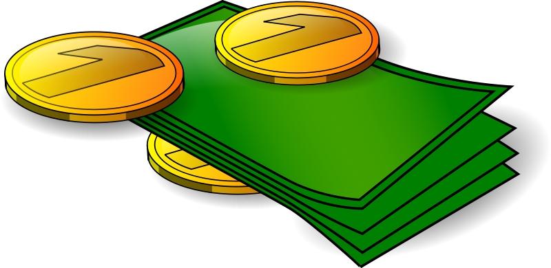Kind of letters money. Cash clipart transparent background