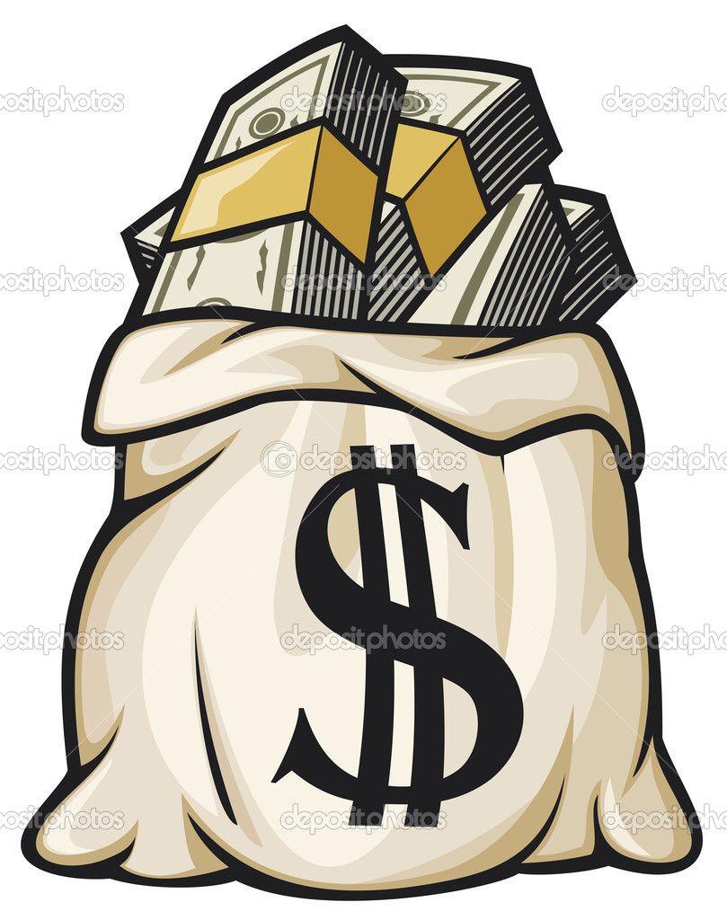 cash clipart vector