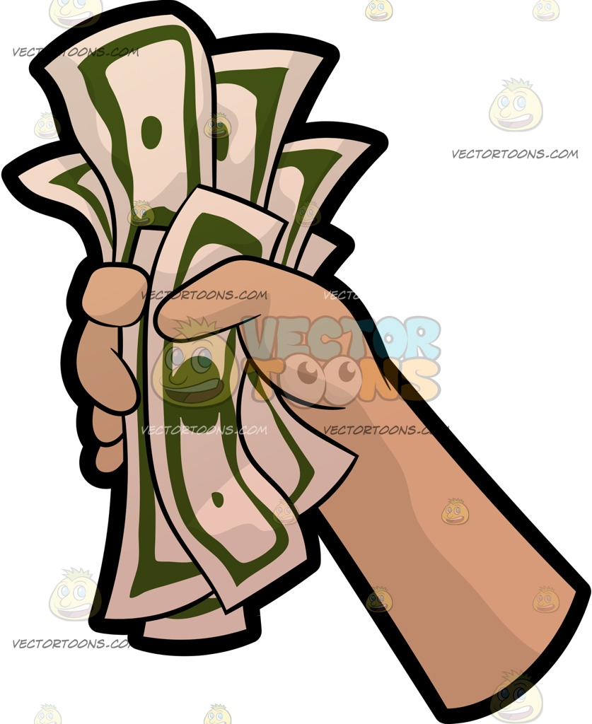 Images of money signs. Cash clipart vector