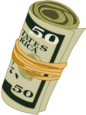 Cash clipart vector. Free money clip art