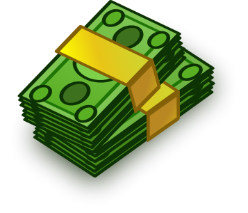 Cash clipart vector.  collection of transparent