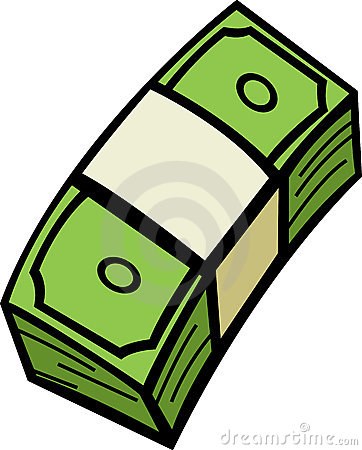 Cash clipart wad cash.  collection of high