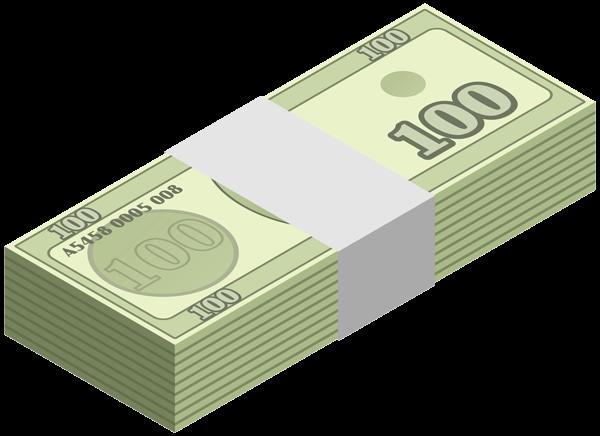 Cash clipart wad cash. Image transparent of money