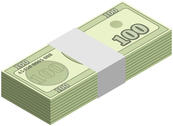Money png clipart. Wad of transparent clip
