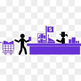 Png images vectors and. Cashier clipart billing counter