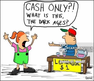 Cartoons and comics funny. Cashier clipart card payment