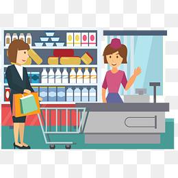 Checkout png images vectors. Cashier clipart cash counter