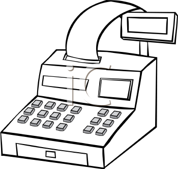 Drawing at getdrawings com. Cashier clipart cash register