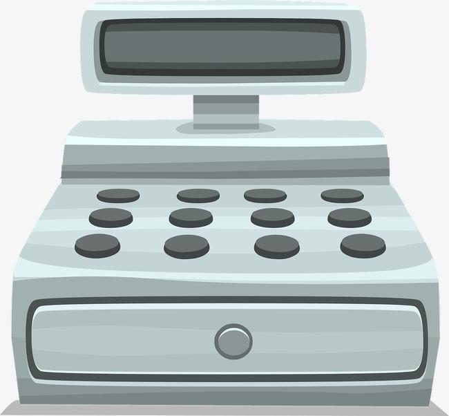 Cashier clipart cash register. Screen round button png