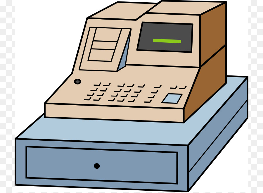 Money clip art cliparts. Cashier clipart cash register