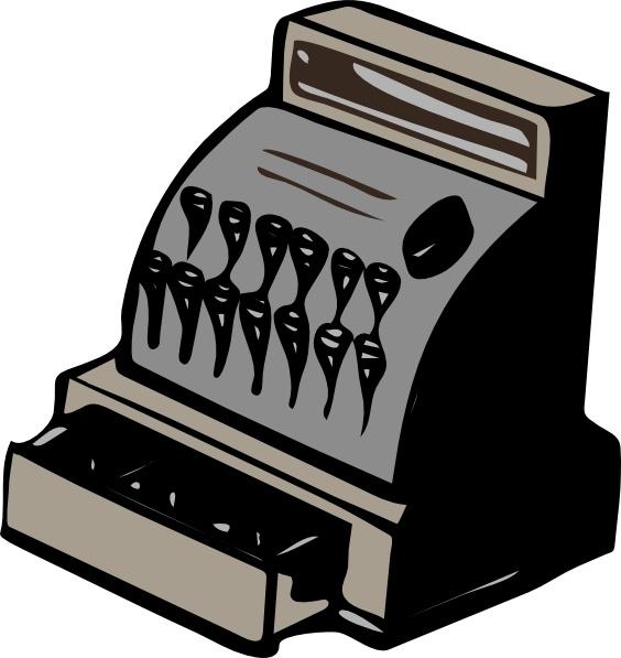Cashier clipart casheir. Drawer clip art free