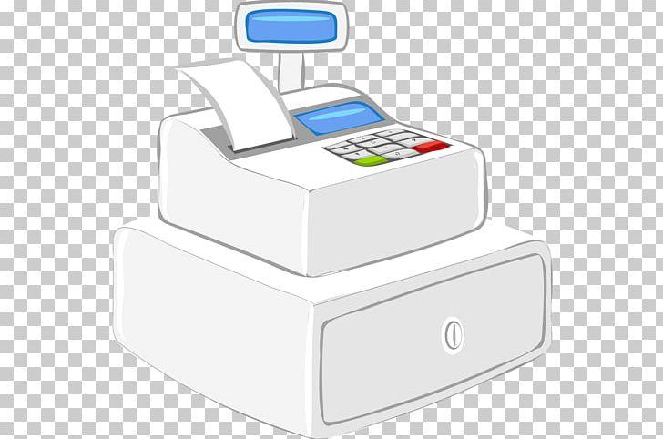 Office supplies cash register. Cashier clipart casher
