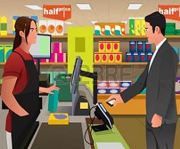 Cashier clipart casher. Free