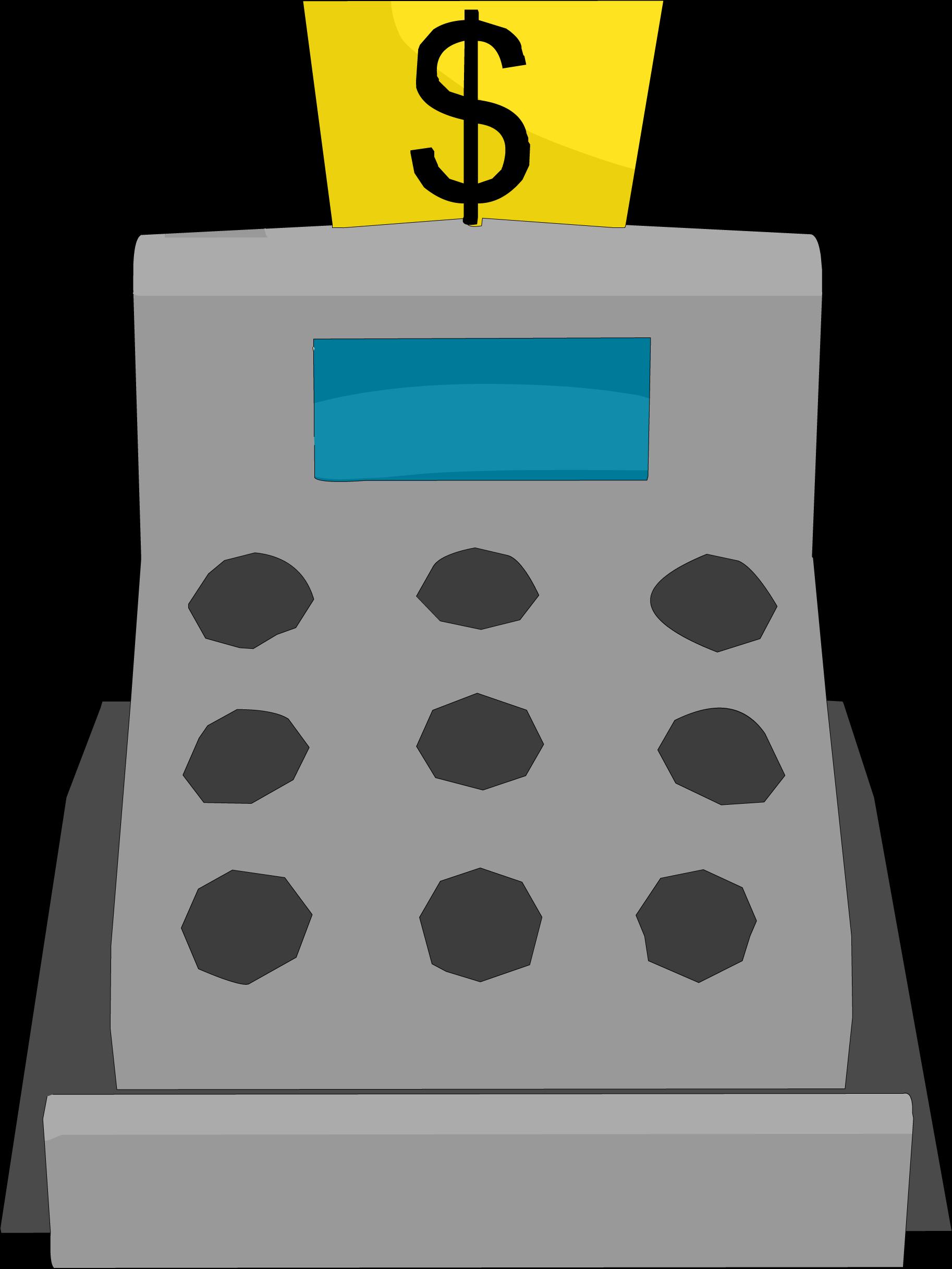Cashier clipart casher. Cash register club penguin
