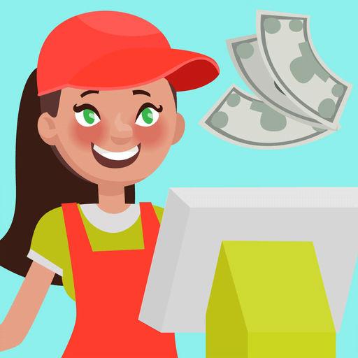 Cashier clipart child money. Supermarket game by yena
