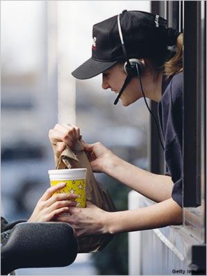 Cashier clipart fast food cashier. Kenneth s blog job
