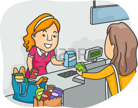 Cashier clipart female.  collection of pay