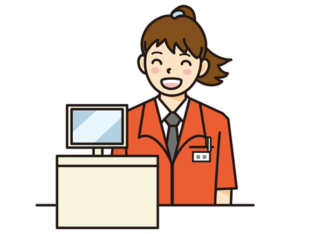Free cliparts cash register. Cashier clipart female