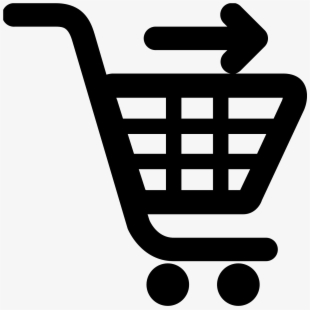 Cashier clipart grocery shopping. Free cliparts silhouettes