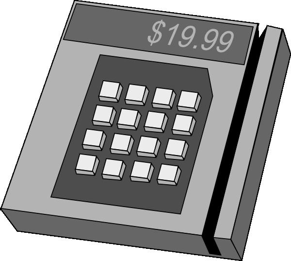 Cashier clipart machine. Credit card clip art