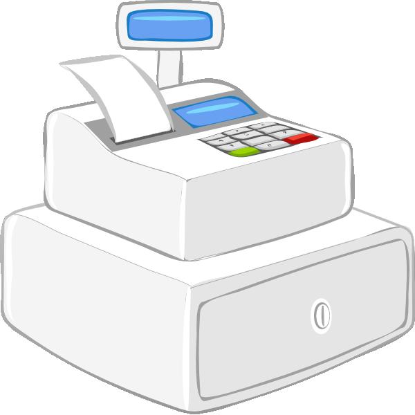 Cashier clipart machine. Case calculator clip art